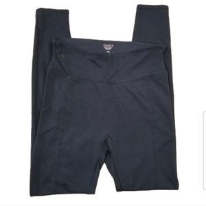 ASSETS BY SPANX Black Large Ponte Knit Leggings